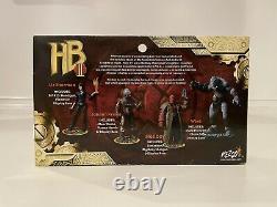 Mezco HELLBOY II 3 3/4 Inch Figures Box Set 2008