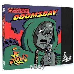 Mf Doom Operation Doomsday 7 Inch Collection Box Set Black Vinyl Rare