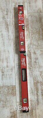 Milwaukee MLBXSM48 24/48-Inch Aluminum REDSTICK Magnetic Box Beam Level Set