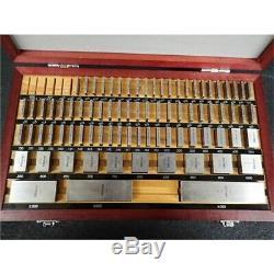 Mitutoyo 516-402-26 81-PC Steel Inch Square Gage Block Set. 050 to 4, No Box