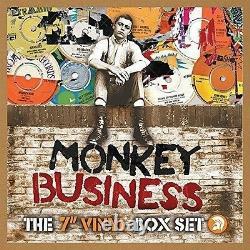 Monkey Businessthe 7 Vinyl Box Set 10 X 7-inch 10 Vinyl Lp Single Neu