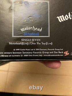 Motorhead Born To Lose Live To Win Rare 7inch Box Set