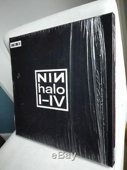 NINE INCH NAILS limited 3.400 original Vinyl 4x 12 BOX-Set HALO I-IV (2015)