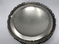 National hub caps, wheel covers, set of 2, plain moon, 15 inch, original box