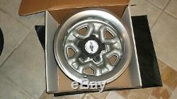 New 1980s Chevy El Camino Or Camaro 14 Inch Wheel Set, Caps, Rings, In Boxs