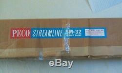 New Boxed Peco Set Nickel Silver Track SM32 SL-600 36inches x12