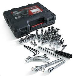 New Craftsman 108 Pc Piece SAE Metric Mechanics Tool Set Tools Sockets Wrenches
