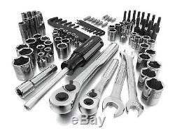 New Craftsman 94pc Piece Mechanics TOOL SET w CASE Metric SAE Inch LASER Socket