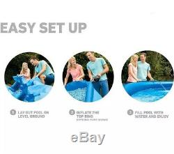 New In Original Box INTEX 10 Ft Foot x 30 In Inch Easy Set Pool Free Shipping
