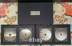 Nine Inch Nails Ghost's I-IV Deluxe LIMITED Edition Box Set (I-IV) RARE