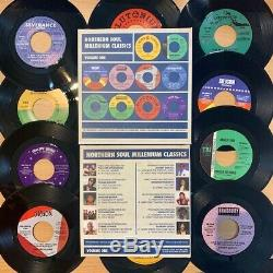 Northern Soul Box Set 10 x 7inch 45s 10 x 7 inch double sided vinyl originals Va