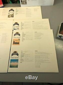 OASIS THE MASTERPLAN BOX SET WITH 7 VINYL 10 INCH (env 25.40 cm) LIMITED ED