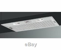 OPEN BOX- Smeg Range Hood with Slider Control Settings, 3 Speeds, 20-Inch