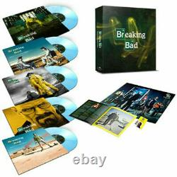 OST BREAKING BAD TV SERIES 5X10 INCH BOX SET COLOURED VINYL LP new & sealed