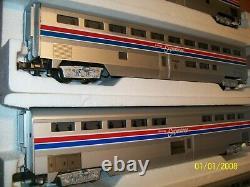 O Scale/O gauge Williams 20inch Amtrak Superliner 5 Car/Boxed Passenger Set-C-7