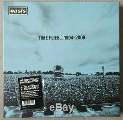 Oasis Time Flies 1994-2009 Box Set Five 12 Inch Lp Vinyls Booklet Mint