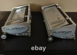 Platinum Drywall Tools Flat Box Set with 10 & 12 inch Boxes with pump & ext handles