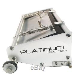 Platinum Drywall Tools Flat Box Set with 8 & 10 inch Boxes, Handle, Pump NEW