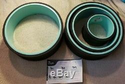 Plexus Chirp Yoga Wheel Plus Set of 3 + One Extra 13 1/2 Inch Wheel Open Box