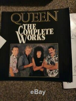 Queen The Complete works 12 inch Vinyl records. Boxed set