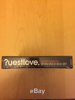 Questlove 7 x 7inch vinyl serato box set Sufro Breaks