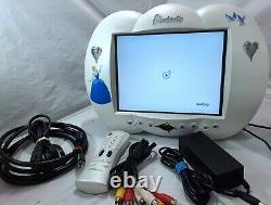 RARE Walt Disney Princess CINDERELLAS 10 FLAT-LCD TV S-Video SVGA RCA AUX