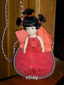 RUBY RED GALLERIA Tanghulu 14cm 5.5 inch doll set in box and mailer