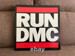 RUN DMC 12-inch 10-piece set box LP record Hip-hop Rap rapper Black Music Japan