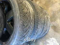 Range Rover Hse Momo L322 Front Rear Set Wheel Rim And Tire 22 Inch 22 03-05