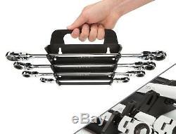 Ratchet Kit TEKTON Ratcheting Box Wrench Set Mechanic Repair Tools Kit Case New