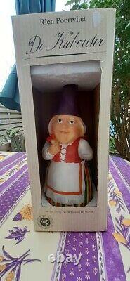 Rien Poortvliet Original David & Lisa Gnome Pair Set 40cm 15.75 inch New In Box