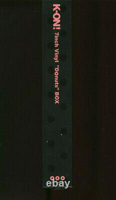 SAKURAKOU K-ON BU K-ON! 7inch Vinyl Donuts JAPAN Box Set PCKA-00010 NEW s7482