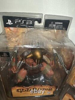 SET Of God of War PS3 Series 1 7inch Action Figure DC Direct Toys, SEALED IN BOX