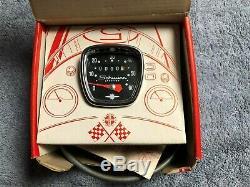 Schwinn Deluxe 27 Inch Bicycle Speedometer, Complete Set With Original Box