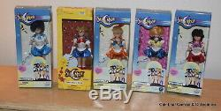 Set 5 Sailor Moon 6 Inch Adventure Doll 2000 Irwin all new in box