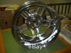 Set Of Tsw 18 Inch Bremmen Chrome Wheels Used In The Original Box's Ec