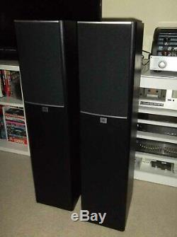 Set of JBL Arena 170 Black 2-Way 7-Inch Floorstanding Loudspeakers Open Box