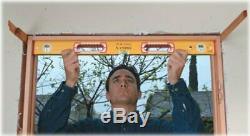 Stabila 37816 48-Inch and 16-Inch Aluminum Box Beam Level Set