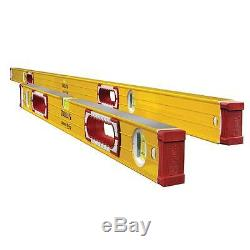 Stabila 96M 78/32 Magnetic Level Jamber Set with Reinforcing Ribs 38532