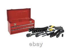 Stanley Tools Box Gift Set 101 pc Socket Allen Hex Key Wrench Kit Garage Storage