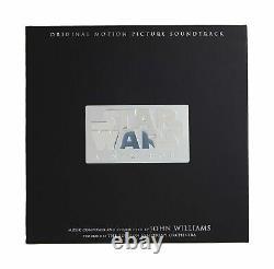 Star Wars A New Hope 3 LP 3D Death Star Hologram Box Set 12 Inch Vinyl Slipcase