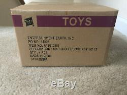 Star Wars Black Series 6 inch Wave 2 Case Shipper Box Complete Set 4 Boba Fett