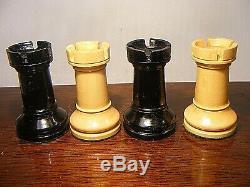 Staunton Chess Set Weighted 4 Inch & Wooden Box