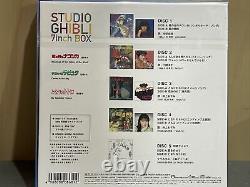 Studio Ghibli 7 inch Box Set of 5 Nausicaa Laputa Totoro Vinyl Single Record