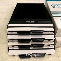 TOP MINT++ in BOX Fidelity Elite 4x5 inch Cut Film Holders Lot of 4 set JAPAN