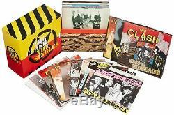 The Clash the Clash Singles'77-'85 19 CD mini 7 inch Japan Single Box Set USED