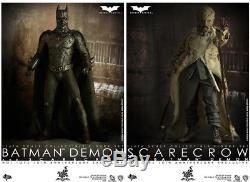 The Dark Knight 12 Inch Doll Figure MMS Batman Demon & Scarecrow Box Set