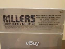 The Killers limited edition 7 inch box set 4760 of an edition of 5000