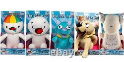 The Odd 1s Out Deluxe Plush Set Of 5 Ploosh UCC Exclusive 12-15 Inches Toy Sale