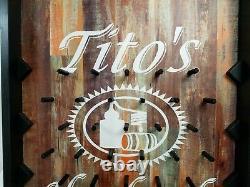 Tito's Vodka Bar Pub Promo Plinko Set 47x24x4 Inches TVD0332 6MC3378-00 Open Box